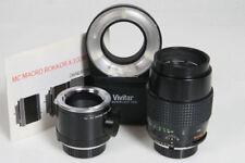 Obiettivi Apertura massima F/3.5 Lunghezza focale 100mm per fotografia e video
