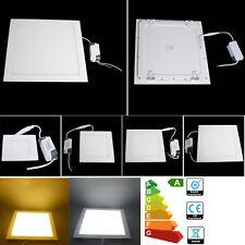 24W 18W 15W 12W 9W 6-3W LED Ceiling Panel Light Recessed Fixture Lamp Ultra Slim