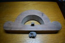"""Antique Router Plane Js Metzger 1/2"""" Blade Woodworker's Tool Exc"""