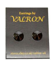 Black Cone Shape Stud Earring (10mm)