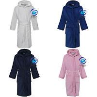 Trespass Childrens//Kids Oarfish Hooded Towelling Robe TP4163