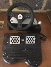 Fanatec PlayStation racing wheel and brakes