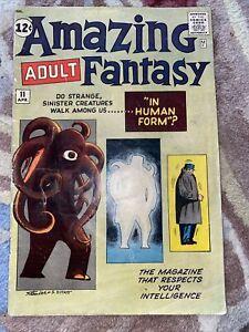 AMAZING ADULT FANTASY 11 MARVEL 1962 LEE/DITKO PRE SPIDER-MAN CLASSIC RARITY