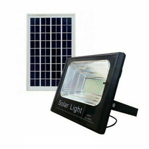 Faro led 100w pannello solare luce fredda energia crepuscolare esterno JF-8800