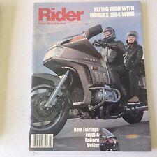 Rider Magazine New Fairings From A Reborn Vetter February 1984 060117nonrh2