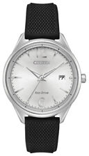 Citizen Eco-Drive Women's Chandler Crystal Markers Black 37mm Watch FE6100-16A