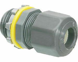"ARLINGTON (10 Pack) LPCG50 .200-.472 1/2"" Strain Relief Non-Metal Cord Connector"