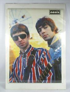 Oasis Liam & Noel Gallagher Vintage Poster Underworld Merchandising 89x64cm