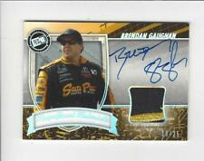 2011 Press Pass FanFare Magnificent Materials Holo Brendan Gaughan AUTOGRAPH /25