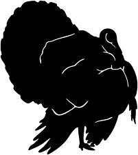 Turkey Decal Stob 4 Vehicles Bird Hunting Truck Window Graphic Sticker