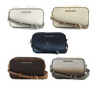 Michael Kors  Connie Small Camera Signature PVC Crossbody Bag