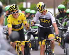 Geraint Thomas Tour de France Winner 2018 Glasses 10x8 Photo