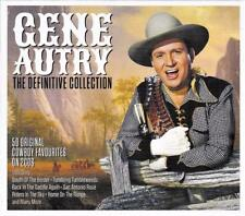 GENE AUTRY - THE DEFINITIVE COLLECTION - 50 ORIGINAL COWBOY FAVOURITES (NEW 2CD)
