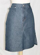 Ralph Lauren denim Skirt 4 cotton blue jeans pencil aline New