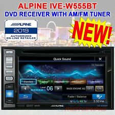 "ALPINE IVE-W555BT DVD RECEIVER WITH AM/FM TUNER 6.1"" TOUCHSCREEN BLUETOOTH 2 DIN"