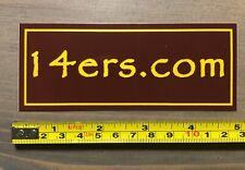 14ers Sticker Decal 14ers.com Colorado Hike Hiking Fourteener Pikes Peak Grays P