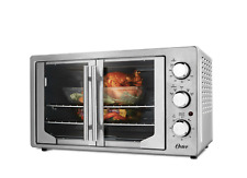 Extra Large French Door Oven with Convection Oster Toaster Big Capacity Pizza
