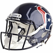 HOUSTON TEXANS RIDDELL NFL FULL SIZE AUTHENTIC SPEED FOOTBALL HELMET