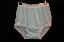 Girls Nos Sz 10 Mint Green 100% Nylon Crepe Vtg 60s Carole Panties Briefs Undies