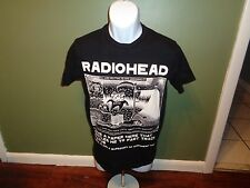 RADIOHEAD w.a.s.t.e. T SHIRT SIZE XS I HAVE FAST TRACK STATUS