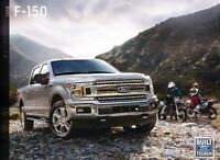 2018 Ford F-150 Truck 58-page Sales Brochure Catalog - SVT Raptor King Ranch