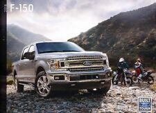 2018 Ford F-150 Truck 58-page Sales Brochure Catalog - SVT Raptor King Ranch