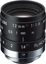 12 mm C-Mount Objektiv Pentax H1214-M (KP) / Ricoh FL-HC1214-2M - 1.4 / 12mm