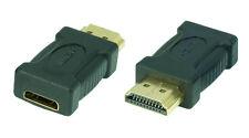 High Speed HDMI-adaptador | Mini-HDMI hembra (C) a HDMI-conector (a) | #da553