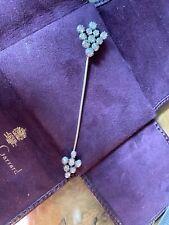 Rare Antique Georgian Gold Old Cut Diamond Arrow  Love Brooch