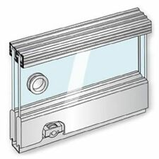BRIO GR6-30 Glassroll glass cabinet sliding gear, 1800mm track length 2 door kit