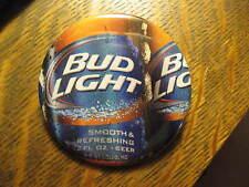 Budweiser Bud Light American Beer Bottle Label Advertisement Pocket Logo Mirror