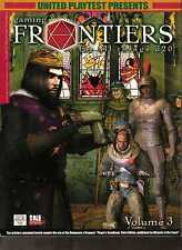 d20 Gaming Frontiers Magazine Vol. 3  *NEW* RPG D&D Dungeons & Dragons Fantasy