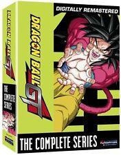Dragon Ball GT Complete Series Seasons 1 + 2 + 'A Hero's Legacy' Movie DVD Set