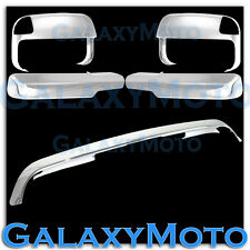 Dodge Ram 2500+3500 Chrome Bug Deflector Hood Guard+Towing Mirror+Arm Cover