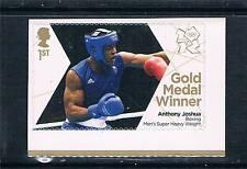 GB 2012 OLYMPIC GOLD MEDAL BOXING JOSHUA 1V S/ADH