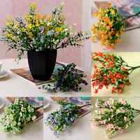 1 Bouquet 6 Branches Artificial Silk Flower Gypsophila Party Wedding Home Decor