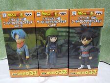 NEW Dragon Ball Z Super WCF World Collectable Figur Gokou Black Trunks & Mye Set