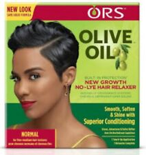 ORS Olive Oil New Growth No Lye Hair Relaxer Kit Fine Medium Hair - Normal