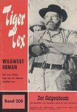 "TIGER Tex n. 208 *** condizioni 1-2 *** ""Hessel"""