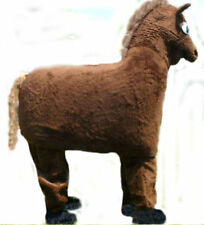 Two Man Horse low cost Mascots USA premium lightweight Costume by CJs Huggables