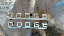 Dodge Power Wagon Coupe Hood Embems 39 40 41 42 46 47