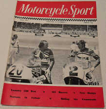 Motorcycle Sport magazine May 1971: Dixon-Robb School, Yamaha R5 350, Norton, MV
