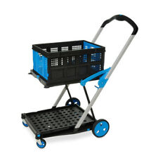 Clever Folding Trolley, Folding Box included, Clax trolley alternative