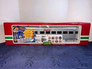 LGB 30590 Observation Coca Cola Streamliner Car G Scale