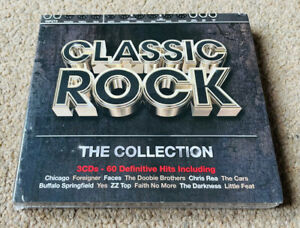 Various – Classic Rock - The Collection (Rhino 2012) 3CD Triple CD NEW SEALED