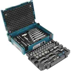 Makita Werkzeugkoffer E-08713 120-teilig im MAKPAC Werkzeugset Werkzeugkasten