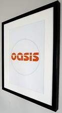 Oasis-Limited Edition PRINT Luxury Framed-Certificate-NEW-Noel Gallagher-LARGE