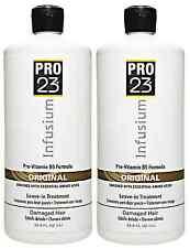 Infusium PRO 23 Leave-In TREATMENT Damaged Hair Original 33.8 Oz Each 2 Bottles