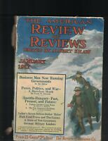 American Review of Reviews January 1917 German Military Leaders Austria-Hungary