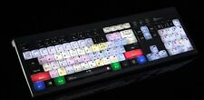 Logickeyboard BLACKMAGIC DAVINCI RESOLVE PC Backlit ASTRA US English Keyboard